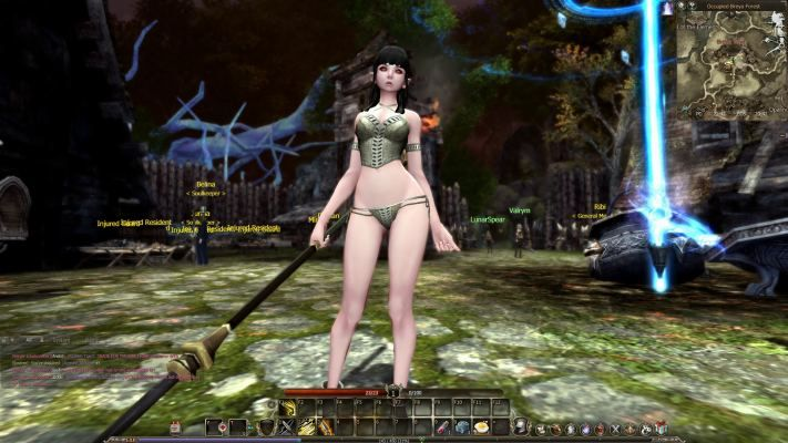 Free nude video game characters pics